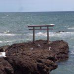 大洗磯前神社の鳥居が絶景スポットだった件!