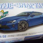 アオシマのザ・スナップキット レビュー、トヨタ86 本気で塗装してみた!