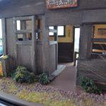 ジオラマで古い駅舎を作ってみよう!(後編)LEDでライトアップも・・・